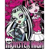 Monster High Fleece-decke, Kinder Tagesdecke Monster High Frankie Stein Kuscheldecke EDEL Duo 2013