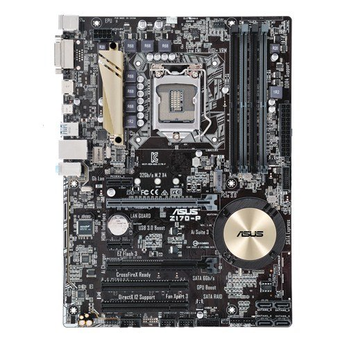 ASUS Z170-P - Placa base (DDR4, Intel, ATX, SATA 600, USB 3.0)