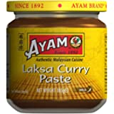 AYAM Laksa Curry Paste - 100% Natural Ingredients - Malaysian Great Flavours - Mild Flavour - Easy and Quick Home…