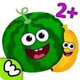 Kindergarten Lernspiele für Kinder 4 5 Jahre alt! Jungen und Mädchen Spiele GRATIS! Lernen Farben und Formen, Früchte & Gemüse für Kleinkinder in Kinderspiele ab 3 2! Rätsel Spiele um die Feinmotorik zu entwickeln! Denkspiele kostenlos!