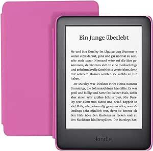 Kindle Kids Edition Mit Zugriff Auf Mehr Als Tausend Bücher Pinke Hülle Amazon Devices