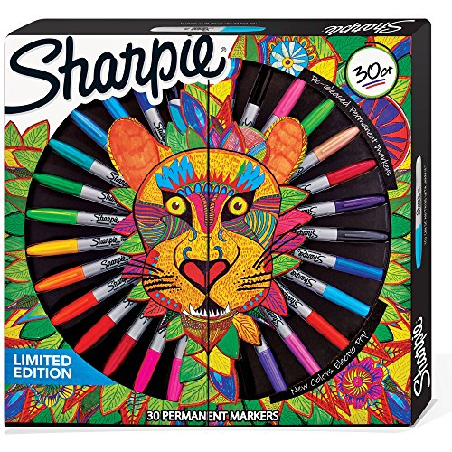 sharpie-edizione-limitata-30-fili-marcatori-permanenti-6-ultra-fine-18-fine-e-6-re-released-fine