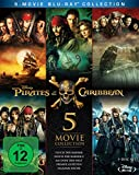 Pirates of the Caribbean 1-5 Box [Blu-ray] -