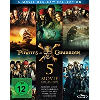 Pirates of the Caribbean 1-5 Box