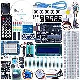 Demino EL-KIT-003 UNO Proyecto Super Starter Kit con Tutorial LCD1602 Módulo Compatible para Arduino UNO r3