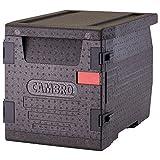 Cambro Cam Go Box Contenedor Isotermico Epp, Plástico, Negro, 65x46x49cm