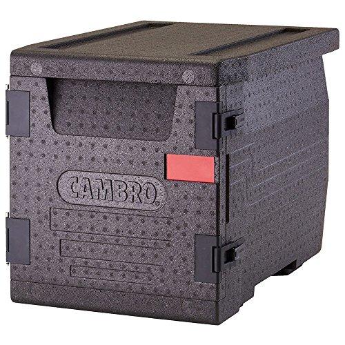 Cambro CAM GoBox Contenedor Isotermico Epp, Negro, 65x46x49 cm