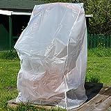 Wetterschutz Abdeckplane Schutzhülle Garten Stuhl Hülle Abdeckung Haube 62x120cm
