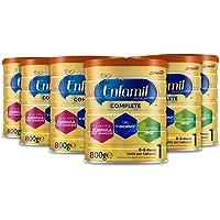 6x Enfamil Premium Complete 1 Latte per lattanti fino a 6 mesi 800g