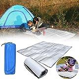 Auntwhale Outdoor-Camping-Picknick Schlafen Matratzenauflage EVA wasserdichte Aluminiumfolie feuchtigkeitsfeste Matte