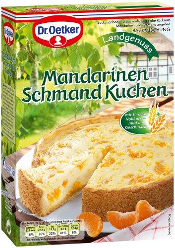 Dr. Oetker Mandarinen Schmand Kuchen, 4er Pack (4 x 0 g)