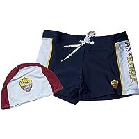 AS Roma Costume Parigamba Lycra Neonato/Bambino R13715-R13680