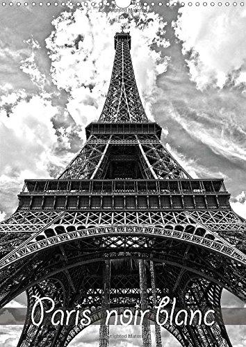 Paris noir blanc 2015: La capitale Paris en noir et blanc, vue d'un taxi par Petrus Bodenstaff