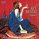 CALENDRIER 2020 ART NOUVEAU- LIGNE COURBE - TOURNEE DU CHAT NOIR - ART (TS) + offert un agenda de poche 2020...