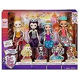 Ever After High Dolls 4 Pack - Raven Queen, Apple White, Madeline Hatter, Ashlyn Ella