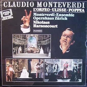 Monteverdi: L'Orfeo / Ulisse / Poppea (Original TV-Soundtrack) [Vinyl Schallplatte] [8 LP Box-Set]