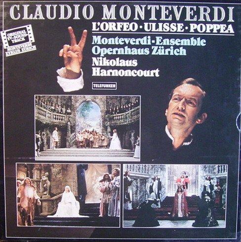 Monteverdi: L'Orfeo / Ulisse / Poppea (Original TV-Soundtrack) [Vinyl Schallplatte] [8 LP Box-Set] -