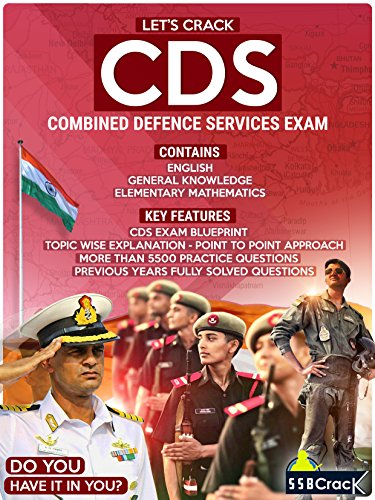 Let's Crack CDS Exam - Combined Defence Services Examination [Free eBooks Inside]  available at amazon for Rs.499
