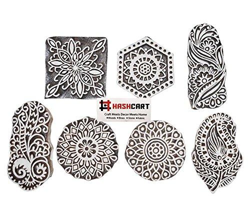 Floril/èges Design fg117050/Jolie Corona Timbro Legno 10/x 8/x 2,5/cm
