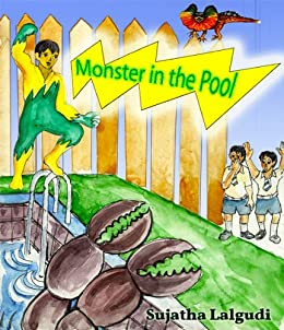 Minchu - Monster in the Pool by [Lalgudi, Sujatha]
