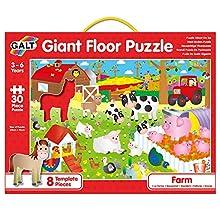 Galt Toys Giant Floor Puzzle Farm