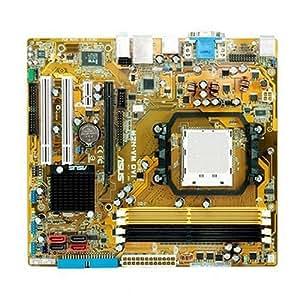 ASUS M2N-VM DVI - Carte-mère - micro ATX - Socket AM2 - GeForce 7050PV - Gigabit Ethernet - carte graphique embarquée - audio HD (6 canaux)