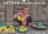 Vietnam Abenteuerreise (Wandkalender 2018 DIN A4 quer): Vietnamreise von Ho Chi Minh zur Halong Bucht (Monatskalender, 1
