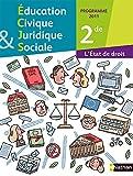 Education civique juridique et sociale - 2de - programme 2011 : L'Etat de droit