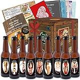 Biergeschenke für Männer | inkl. Bierbuch, Glückwunschkarten, Bierbewertungsbogen | Bierset für den Mann | Geschenke für Männer Partner Geschenke für Männer Rentner Geschenke für Männer Rente Geschenke für Männer romantisch