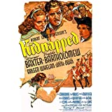 Kidnapped (aka Kidnapped: The Adventures of David Balfour, 1938) - Region 2 PAL Import, plays in English without subtitles