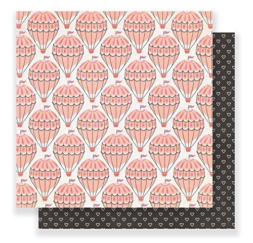 American Crafts 25Stück 30,5x 30,5cm Papier Weit, 12-x-12-inch