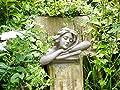 Weiblich Kopf Torso Büste Statue Garten Ornament Lady Skulptur groß Kunstharz 46cm von giftwarez bei Du und dein Garten