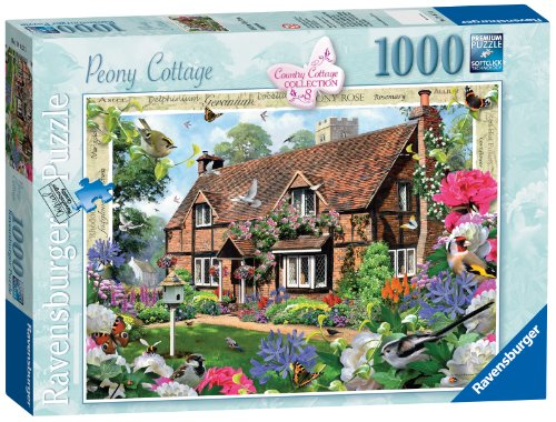 Country Collection Nr.8 - Peony Cottage 1000pc-Stichsäge (Collection Country)