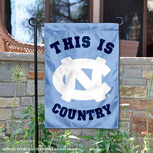 North Carolina Tar Heels Dies ist UNC Country Garden Flagge