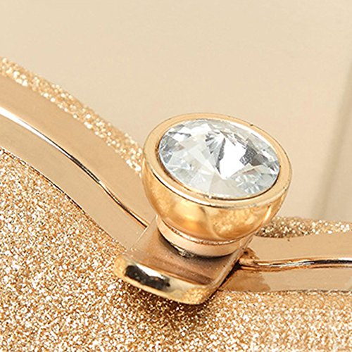 HT Evening Bag, Poschette giorno donna Gold