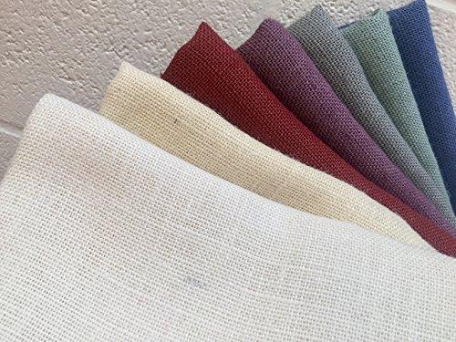Gefärbt Jute Stoff Farbige Sackleinen Jute Material-Hochzeit Tischläufer-140cm (von der) gebrochenes weiß