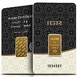 IGR Gold 5g Gramm Goldbarren 999.9 Geschenk Anlage Zertifiziert
