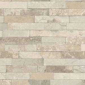 rasch factory stein optik mauer vlies tapete 438437. Black Bedroom Furniture Sets. Home Design Ideas