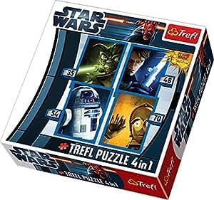 Star Wars: Clone Wars - Puzzle 4 w 1