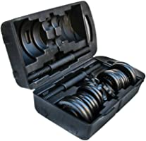 Cosfer CSF-20KGD Çantalı Siyah Döküm Set, Unisex, Siyah