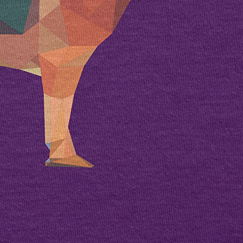 TEXLAB - Poly German Shepard - Herren T-Shirt Violett