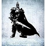 Wandtattoo Lich King World of Warcraft Größe S