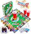 "DRINK-A-PALOOZA Party Game: the Drinking Game that combines ""old-school"" + ""new-school"" Adult Games featuring Beer Pong, Flip Cup, Kings Card Game & all the Best Games for Adults"