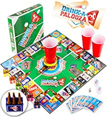Idea Regalo - DRINK-A-PALOOZA Party Game: the Drinking Game that combines