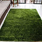WJSWM Living Room Carpet Area Teppiche Bright Seidenfilament Line Braune Decke 120 * 170 cm Einfach Moderne Umwelt Skin-freundliche Teppiche,Green