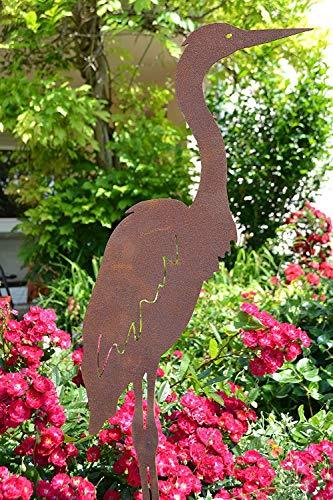 Gartenstecker Reiher- Höhe 110 cm - 3