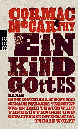 Buchseite und Rezensionen zu 'Ein Kind Gottes' von Cormac McCarthy