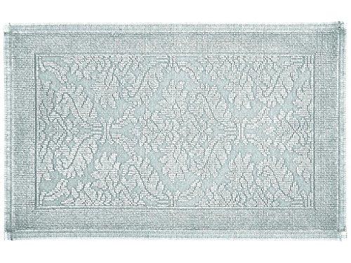 Soleil d'ocre Tapis de Bain en Coton 50x80 cm Firenze Galet, par Vent du sud