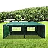 Tonnelle barnum tente de réception pliante 3 x 6 m vert + sac de transport 50