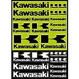 26 Stickers Autocollants Moto Kawasaki